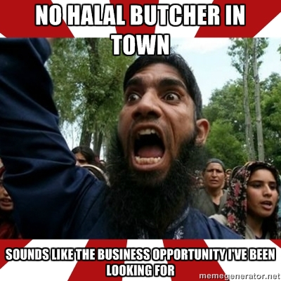 No Halal Butcher