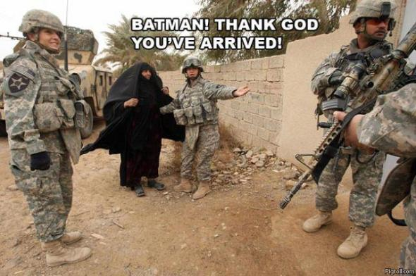 BATMAN! THANK GOD, YOU`RE ARRIVED