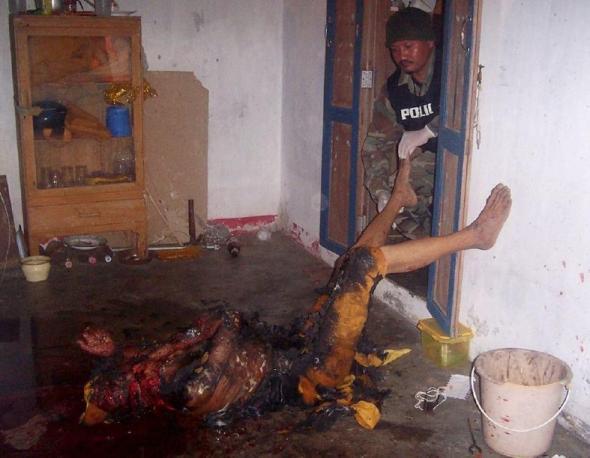Jihad (Thailand) , killing monk